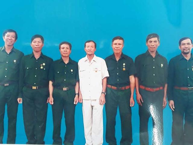 Trước khi phiên tòa phúc thẩm diễn ra, Tòa đã ra lện tạm giam các cựu chiến binh này (ảnh: gia đình cung cấp)