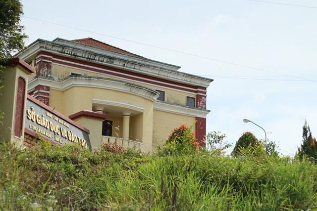 Sở GD- ĐT tỉnh Đắk Nông nơi bà Nga công tác