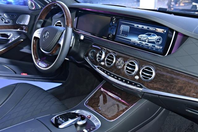 Nội thất sang trọng của Mercedes-Maybach S 400 4MATIC