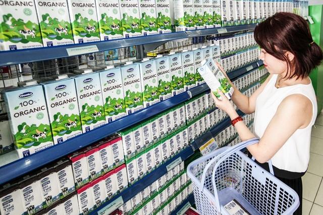 Sữa tươi Vinamilk 100% luôn là lựa chọn hàng đầu của người tiêu dùng.