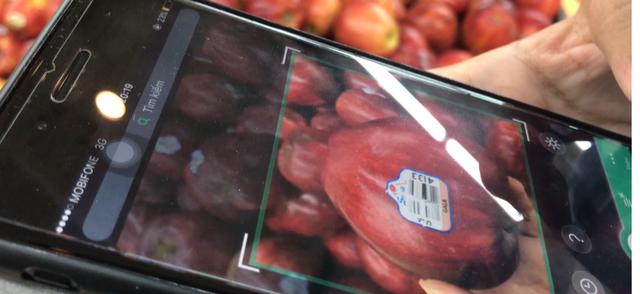 Kiểm tra phần mềm icheck các loại táo
