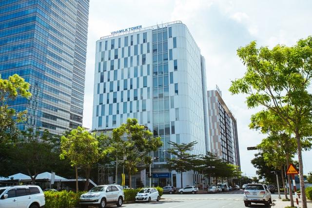 Trụ sở chính Công ty Cổ phần sữa Việt Nam Vinamilk tại TP.HCM