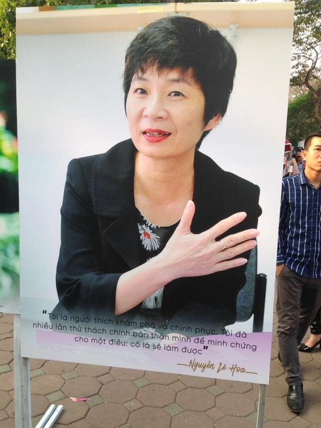 Chân dung bà Lê Hoa - Phó Giám đốc Quốc gia - Oxfam tại Việt Nam.