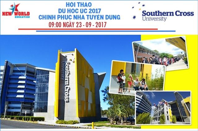 Hội thảo du học Úc 2017 - Cùng Đại học Southern Cross chinh phục nhà tuyển dụng - 1