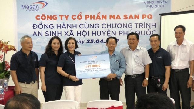 Masan PQ đồng hành cùng chương trình an sinh xã hội huyện Phú Quốc - 1