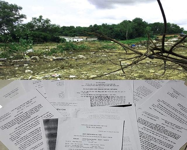 Kể từ khi UBND TP ban hành quyết định thu hồi trên, mẹ con bà Uyên có đất bị thu hồi phục vụ dự án TĐC đã có đơn gửi các cơ quan chức năng thành phố với mong muốn được nhận lại đất để ổn định cuộc sống.