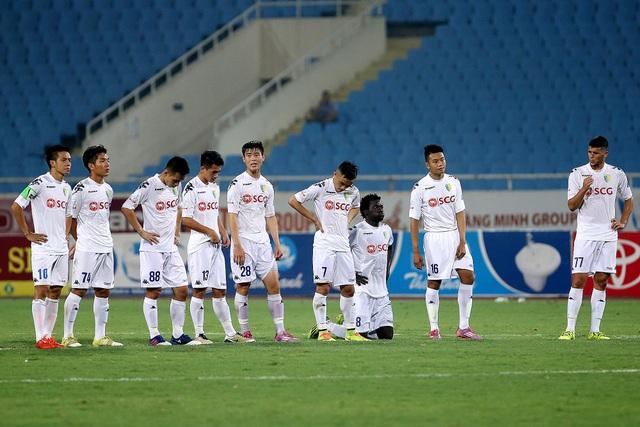 Nỗi thất vọng của Hà Nội FC sau khi bị loại