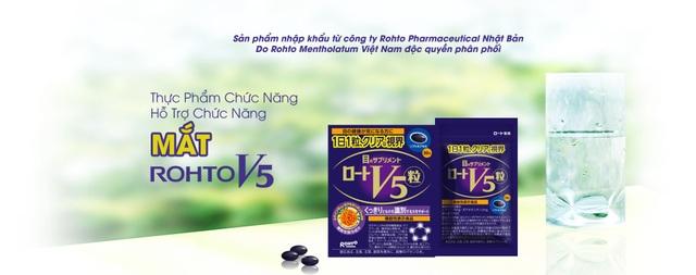 Công ty Rohto lần đầu tiên ra mắt thực phẩm chức năng chăm sóc mắt - 3