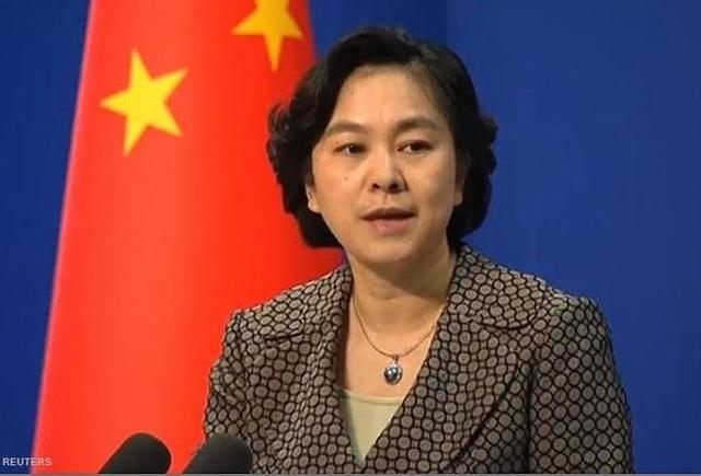Phát ngôn viên Bộ Ngoại giao Trung Quốc Hoa Xuân Oánh (Ảnh: Reuters)