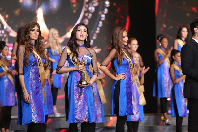 Huyền My lọt Top 10 Hoa hậu Hòa bình Thế giới nhưng không thể đi sâu hơn vào Top 5.