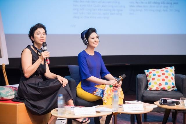 Sự kiện được chủ trì bởi bà Eva Nguyễn Bình - Phu nhân Đại sứ Cộng hòa Pháp, Tham tán Hợp tác và văn hóa của Đại sứ quán Pháp. Hoa hậu Việt Nam 2014 Ngọc Hân cũng là một trong những vị khách được mời giao lưu trong chương trình này.