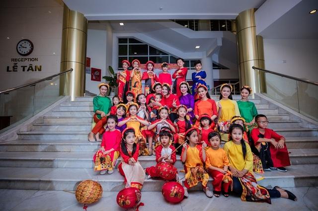 Hoa hậu hy vọng rằng, các em nhỏ sẽ hiểu hơn về văn hoá dân tộc và biết cách giữ gìn những giá trị này.