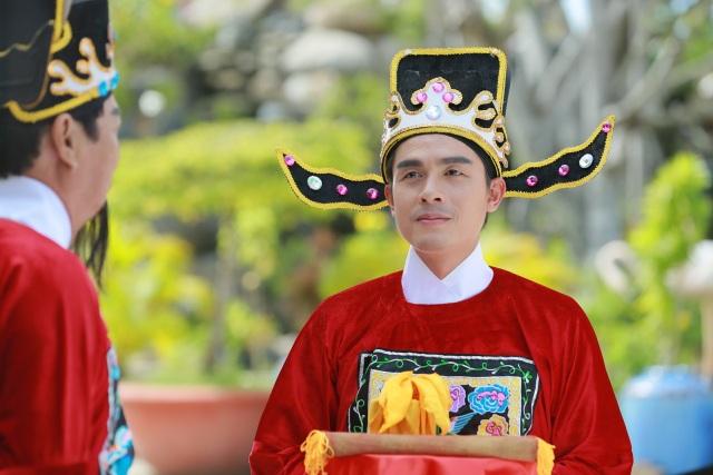 Diễn viên Hòa Hiệp được tin tưởng giao đảm nhận vai vị quan huyện Trần Trung.