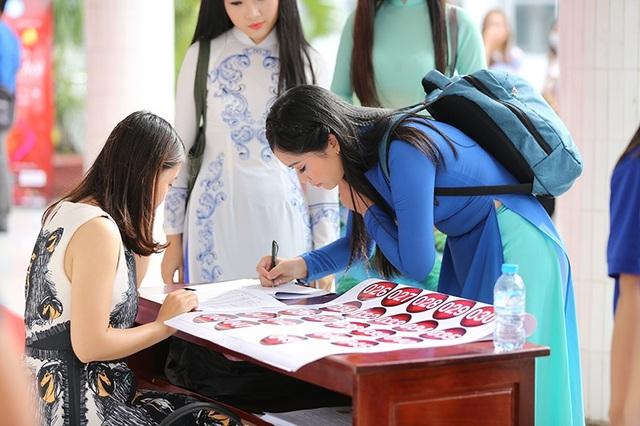 Nhiều gương mặt tiềm năng lộ diện tại sơ khảo Hoa khôi Sinh viên VN 2017 - 8
