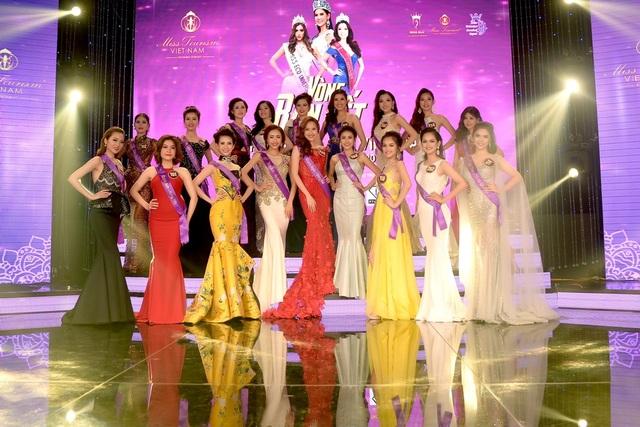 Bán kết Hoa khôi Du lịch Việt Nam 2017 bị trễ giờ do Hoa hậu quốc tế... kẹt xe - 7