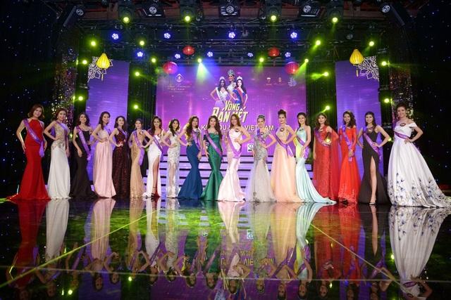 Bán kết Hoa khôi Du lịch Việt Nam 2017 bị trễ giờ do Hoa hậu quốc tế... kẹt xe - 6