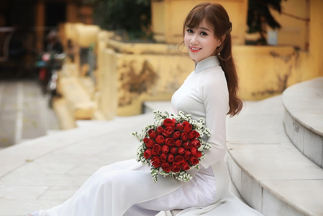 Bộ ảnh này được cô thực hiện cùng nhiếp ảnh Phan Thanh Tâm.