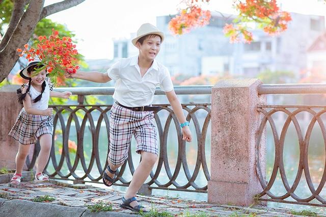 Mùa hè tuổi thơ ngập hoa phượng đỏ của hai anh em tại Hải Phòng - 13