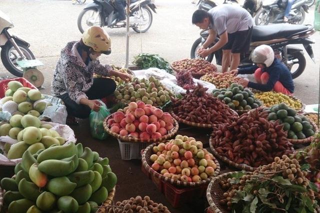 Sau rau quả Trung Quốc, đến lượt rau quả Thái Lan tiếp tục xâm nhập vào Việt Nam từ các siêu thị, cửa hàng, chợ truyền thống (ảnh minh hoạ)