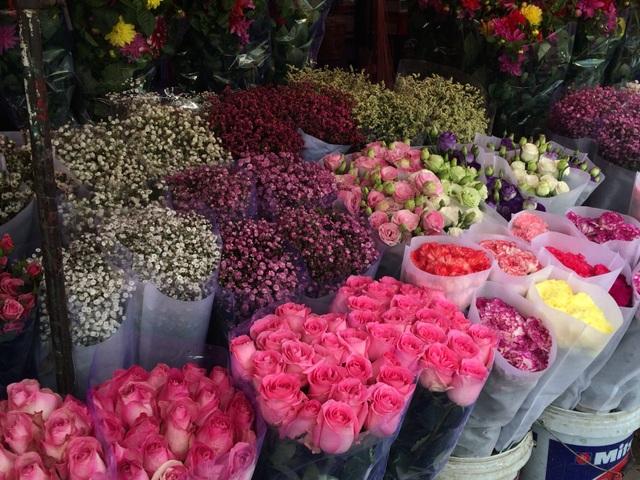 Các loại hồng nhập khẩu có giá khá cao