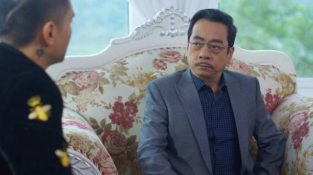 NSND Hoàng Dũng trong vai ông trùm Phan Quân của phim Người phán xử.