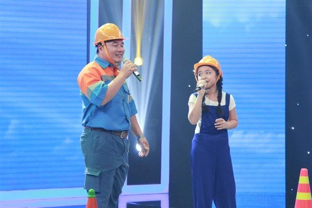 Anh Hoàng Sơn và con gái, Mai Anh.