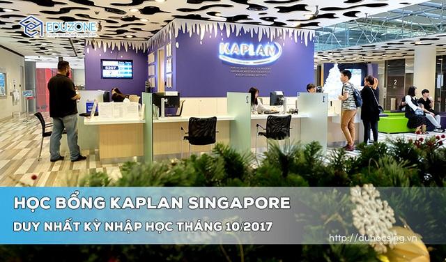 Chương trình học bổng 50% học phí của Kaplan Singapore - 1