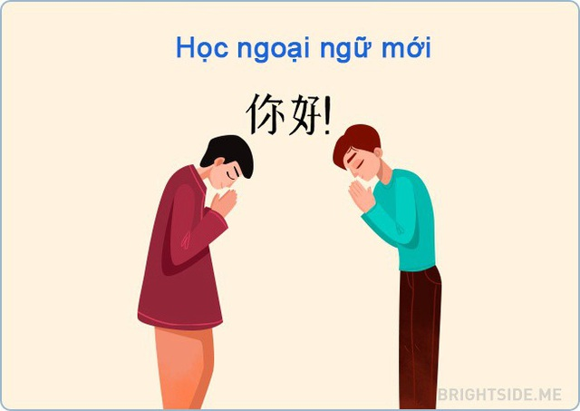 Thế giới rộng lớn và chúng ta không cô đơn. Và nếu bạn có thể học tiếng Pháp hoặc tiếng Trung thì điều này có nghĩa là bạn có thể làm được mọi thứ.