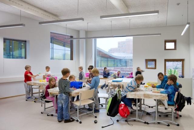 Học sinh Phần Lan không được chia thành lớp chọn hay lớp thường. Tất cả học sinh dù giỏi hay kém đều được theo học cùng một lớp.