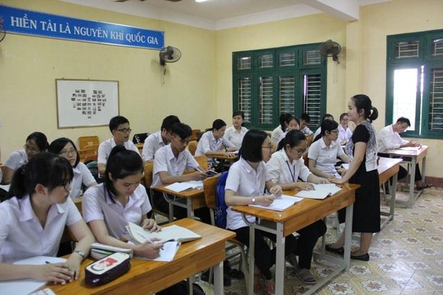 Tập thể lớp nơi Quỳnh Giao học tập rất đoàn kết, luôn giúp đỡ lẫn nhau