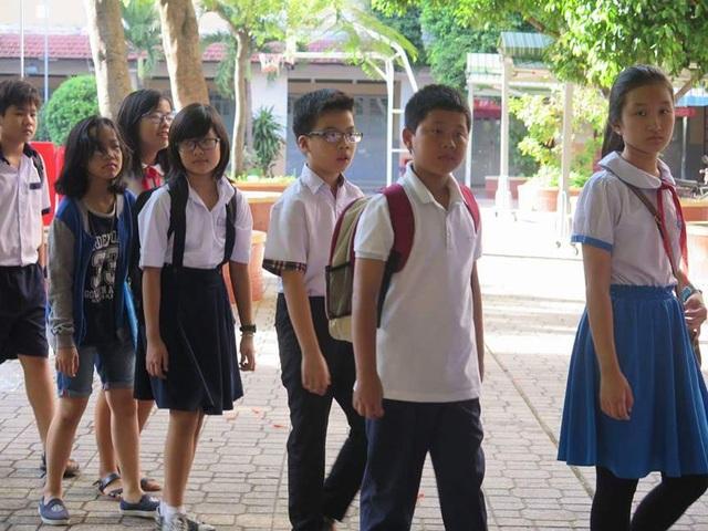 Sáng nay, hơn 3.800 học sinh khảo sát năng lực vào lớp 6 trường Trần Đại Nghĩa - 1