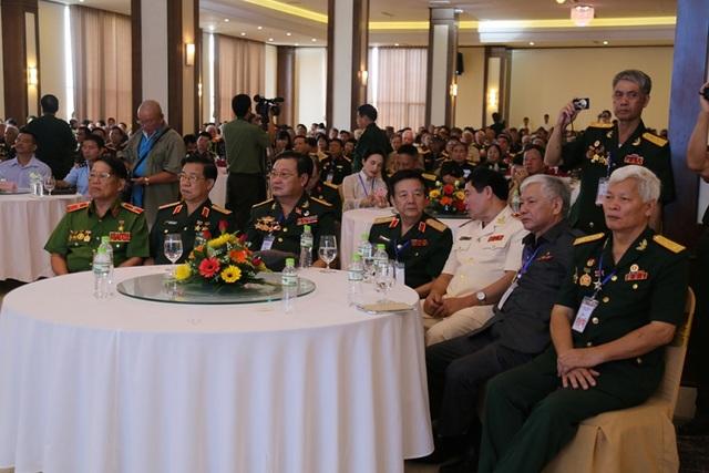 Các tướng lĩnh trong Hội chiến sĩ Thành Cổ tham dự buổi gặp mặt