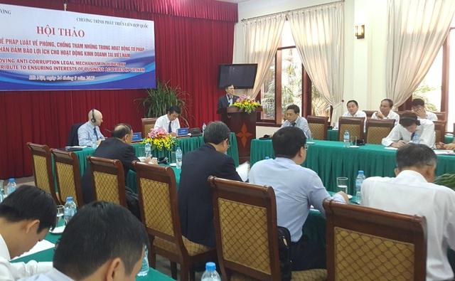 Hội thảo do Ban Nội chính Trung ương tổ chức