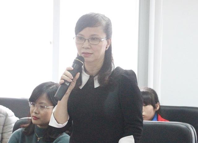 """Bà Nguyễn Thị Kim Phụng: """"Nếu không có báo chí chúng tôi không hoàn thành tốt được nhiệm vụ""""."""