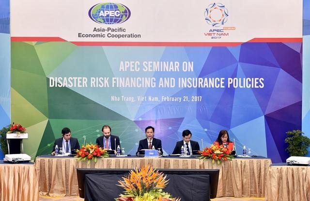 """Hội thảo """"Chính sách Tài chính và Bảo hiểm rủi ro thiên tai"""" diễn ra sáng nay 21/2 tại Nha Trang"""