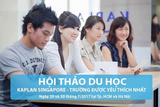 Hội thảo Du học Singapore: Học đại học chỉ 26 tháng đối với học sinh hết lớp 9 ở VN - 2