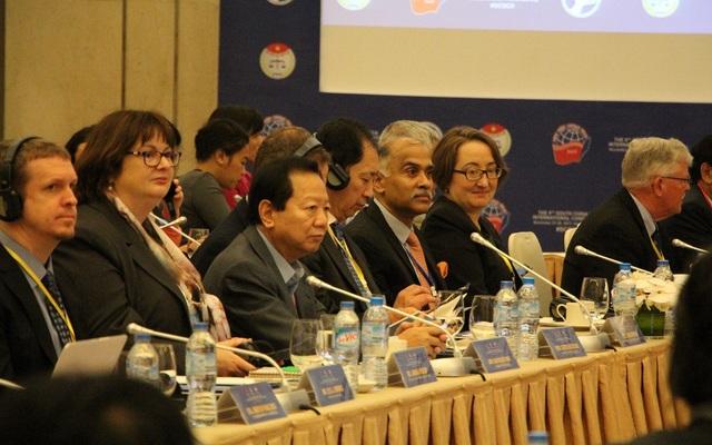 Hội thảo có sự tham gia của khoảng 200 đại biểu, trong đó có 90 đại biểu quốc tế