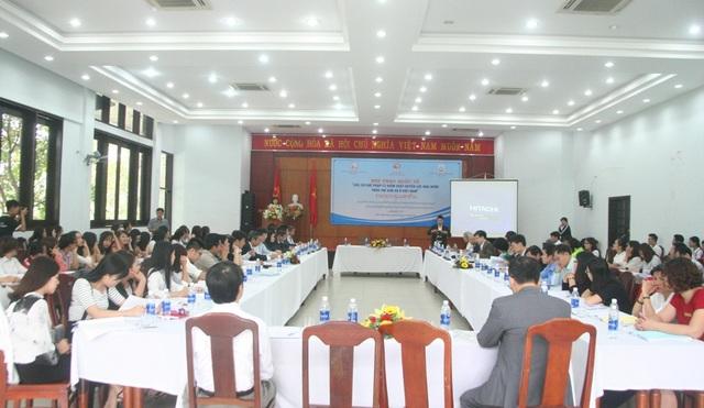 """Toàn cảnh Hội thảo quốc tế """"Các cơ chế pháp lý kiểm soát quyền lực nhà nước trên thế giới và Việt Nam"""""""