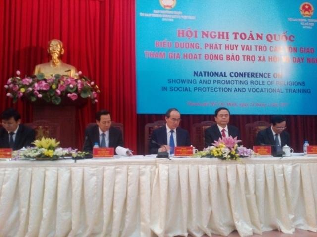 Ủy ban Trung ương Mặt trận Tổ quốc VN chủ trì hội nghị