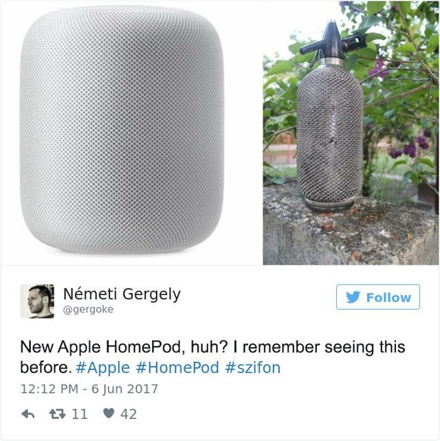 """""""HomePod ư? Hình như tôi nhớ là đã nhìn thấy nó ở đâu đó thì phải."""""""