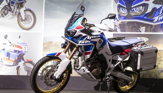 Honda Africa Twin Adventure Sport có mặt tại triển lãm EICMA 2017