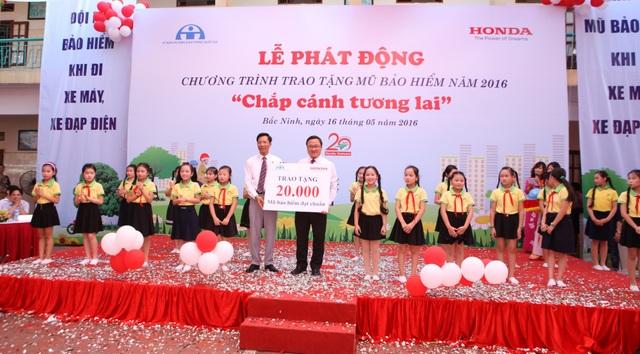 Lễ phát động chiến dịch trao tặng 20.000 MBH - Cùng Honda chắp cánh tương lai