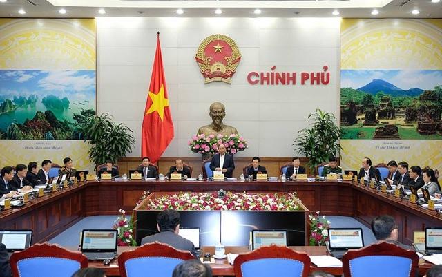 Thủ tướng chủ trì phiên họp tháng 11 của Chính phủ