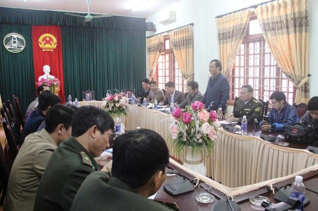 Ông Hưng nhấn mạnh, các đơn vị liên quan cần vào cuộc quyết liệt hơn để ngăn chặn nếu không sẽ mất rừng