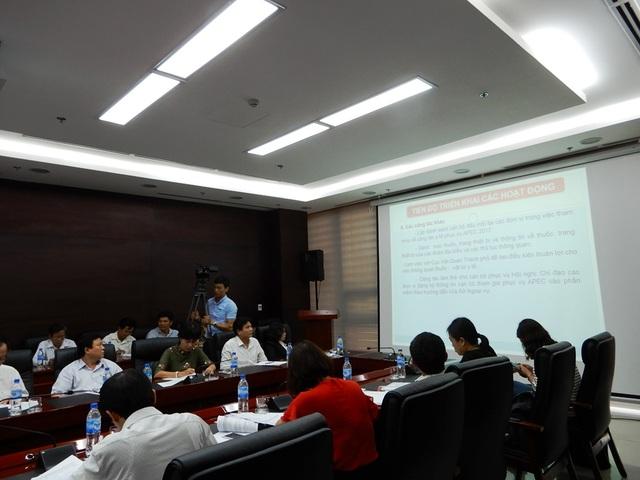 Bộ Y tế làm việc với Đà Nẵng về công tác chuẩn bị y tế phục vụ APEC 2017