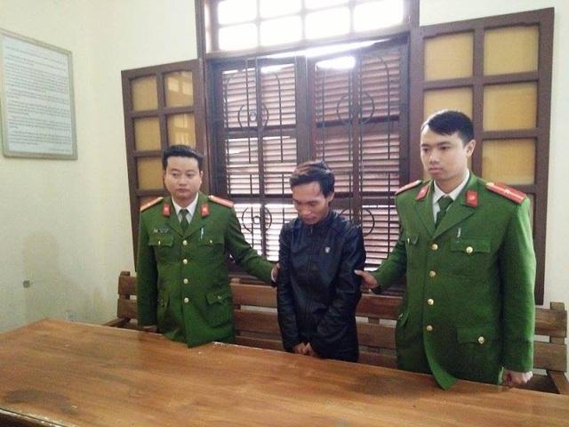 Đối tượng Nguyễn Mạnh Hùng bị bắt giữ