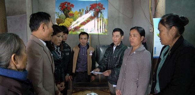 Người nhà anh Tĩnh cảm ơn em Nguyễn Đức Ngọc.