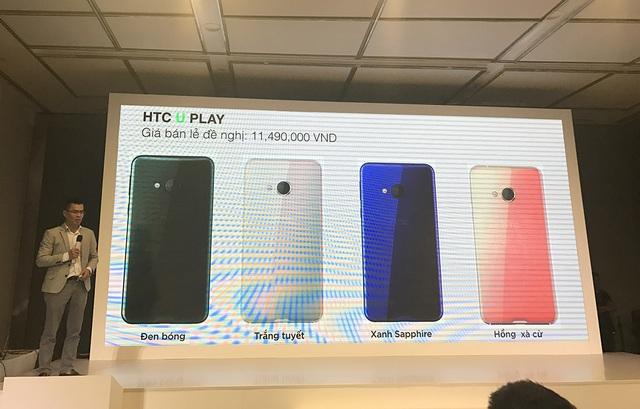 Giá bán HTC U Play