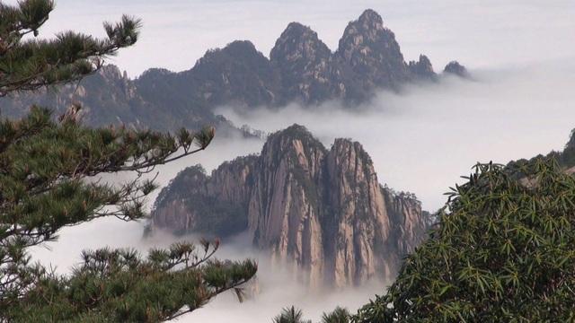 Danh thắng núi Hoàng Sơn đẹp như chốn bồng lai tiên cảnh