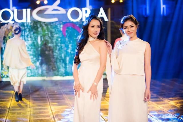 BTV Hoài Anh và MC Hoàng Linh của chương trình Chúng tôi là chiến sỹ.